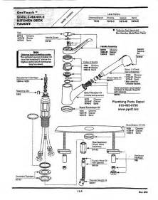 kohler kitchen faucet parts diagram kohler kitchen faucet parts kohler kitchen faucet parts