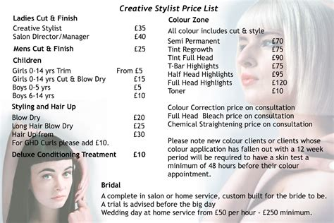 philippine hairstylist in uk pricelist u concept hair salons glasgow