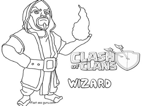 Clash Of Clans Archer Queen Coloring Page Preview | clash of clans archer queen coloring page preview