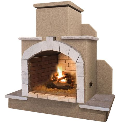 cal 78 in propane gas outdoor fireplace frp915 1