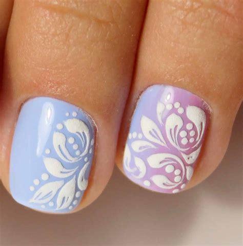 decorazioni unghie gel fiori unghie gel e nail tendenze 2018 idee originali