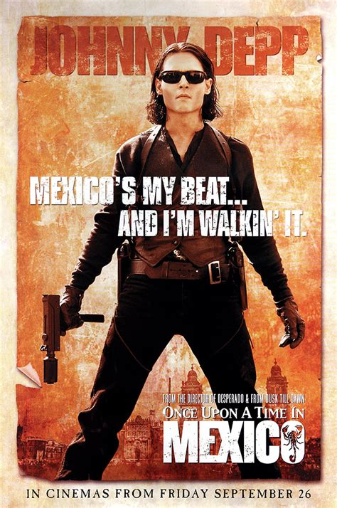 Vcd Original Once Upon A Time In Mexico Once Upon A Time In Mexico Poster Johnny Depp