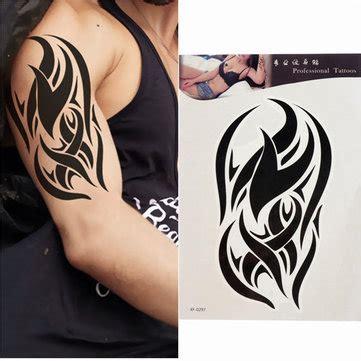 black typical tattoo sticker buy tattoo sticker body black totem tattoo stickers waterproof temporary tattoos