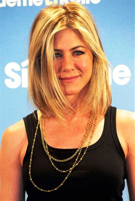 Aniston Hairstyles Pictures by Pictures Of Aniston Lob Hairstyle