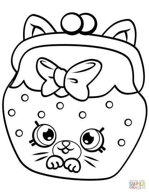 shopkins coloring pages for kids download 4 shopkins