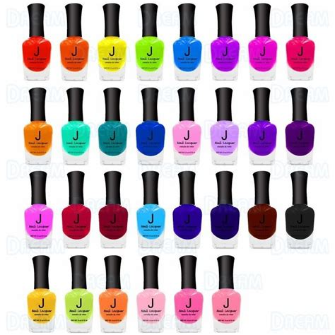 j los nail polish j nail polish display set 001 030 180pcs dream world