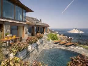 oceanfront homes for oceanfront property with zen like interiors