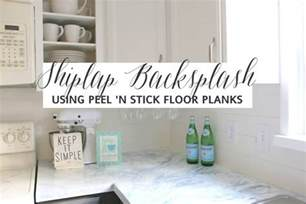 faux marble backsplash faux shiplap backsplash with peel n stick flooring