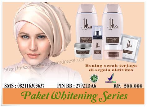 Series By Msglow Pemutih Badan pemutih badan mazaya skin care