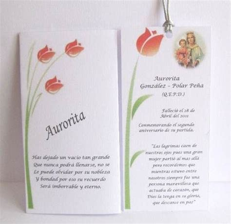 tarjetas de aniversario para difuntos resultado de imagen para tarjetas de difuntos misa abu