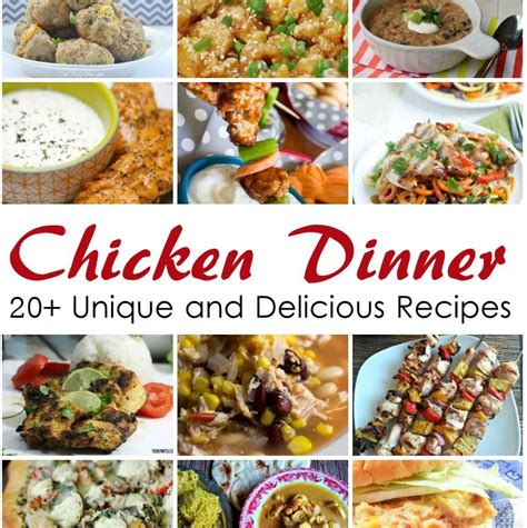 Dinner Ramblings 2 by 20 Fantastic Chicken Dinner Recipes Page 2 Of 2