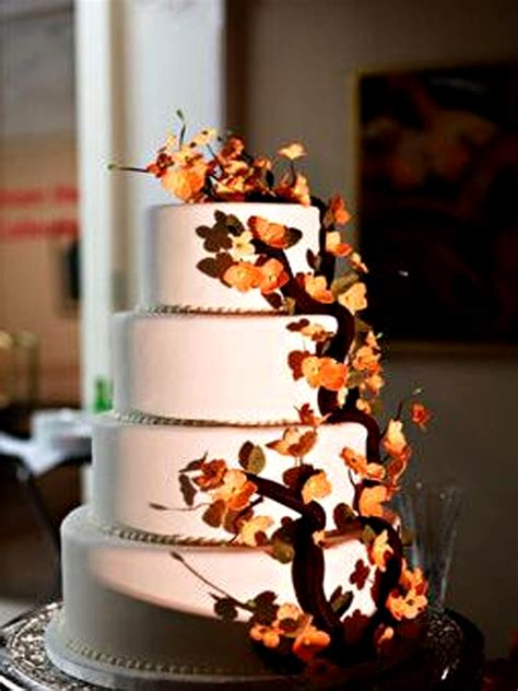 Fall Wedding Cakes by Fall Wedding Cakes Pictures Of Autumn Wedding Cakes 2017