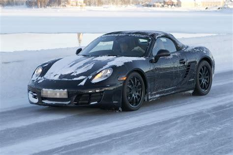 Erlk Nig Porsche by Erwischt Erlk 246 Nig Porsche Boxster Im Schwedischen Schnee