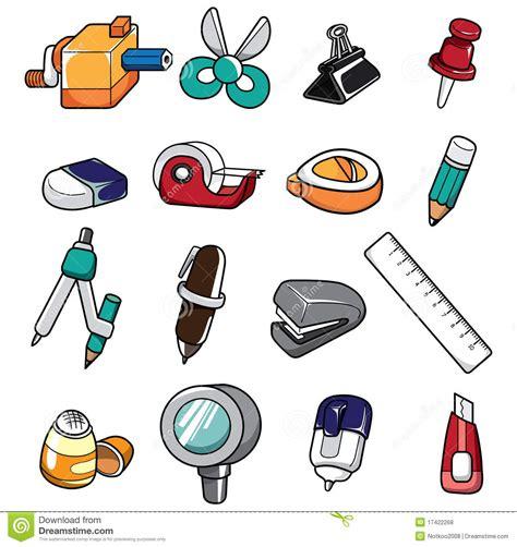 doodle stationery doodle stationery royalty free stock photos image 17422268