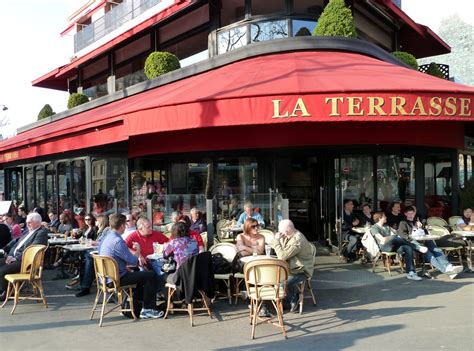 la terrasse caf 233 s there s nothing more parisian