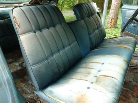 strato bench seat find used barn find rare hideaway lights power windows