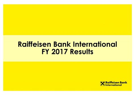 raiffeisen bank international ag raiffeisen bank international ag adr 2017 q4 results