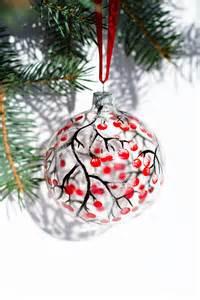 christmas ornaments hand painted glass ornament scandinavian