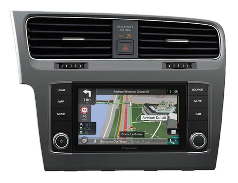 Golf 7 Android Auto by Pioneer Navgate Evo Navigation F 252 R Golf 7 Dab Carplay