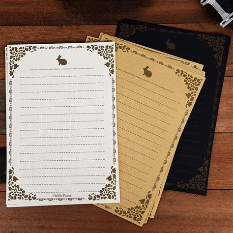 Printed Letter Paper 10pcs 8pcs set vintage antique lace letter writing paper classic