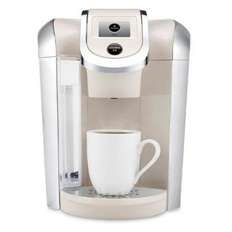 colored keurig keurig 2 0 k450 coffee brewing system carafe colors and