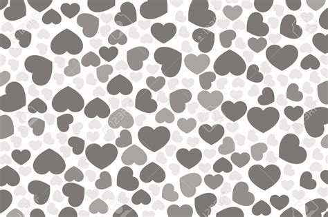 white heart pattern black and white heart wallpaper wallpapersafari