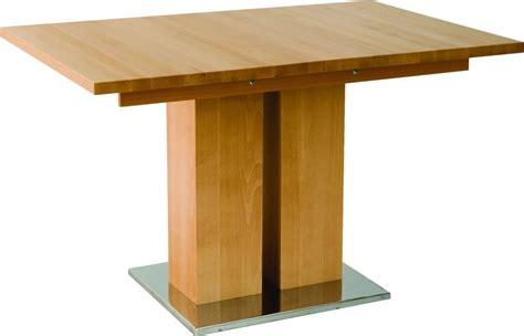 tables bois massif table en bois massif design md1 a rallonge 140 x 90 cm
