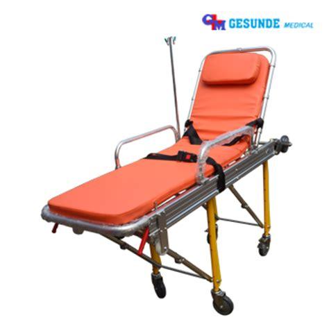 Brankar Ambulan Ambulance Stretcher Roda tandu stretcher brankar pasien ambulance stretcher emergency bed toko medis jual alat