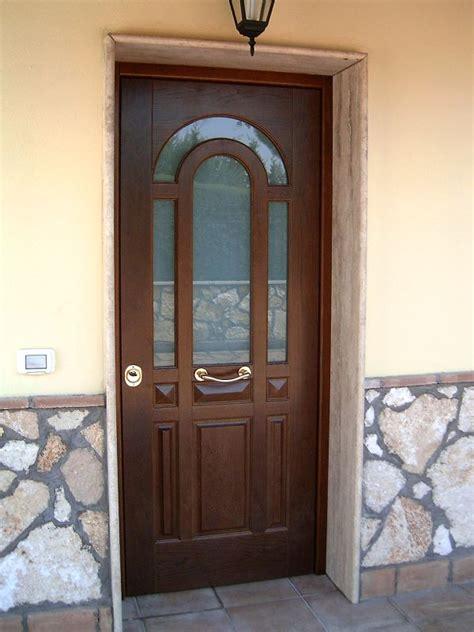 porta da esterno con vetro porte blindate fanara serramenti palermo