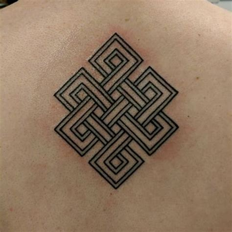 endless knot tattoo designs 8 endless knot tattoos on back