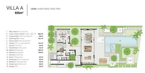 Floor Plan Drawing Program naman residences villa a luxury property in da nang hoi
