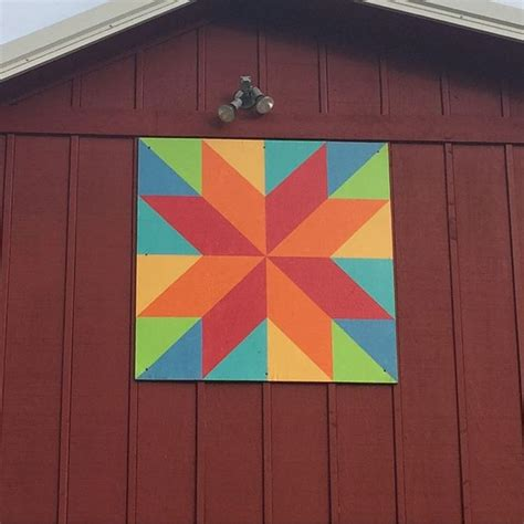 geometric pattern on barns 938 best images about barn quilts paintings on pinterest