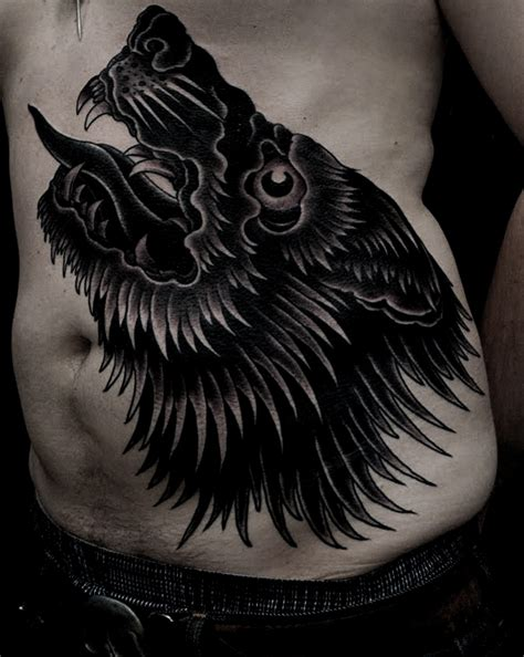 Cool Wolf Tattoos Disign Part 3 Tattooimages Biz Black Wolf Designs