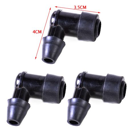non resistor spark cap 3x for motorcycle dirt bike atv 90 degree non resistor spark cap cover