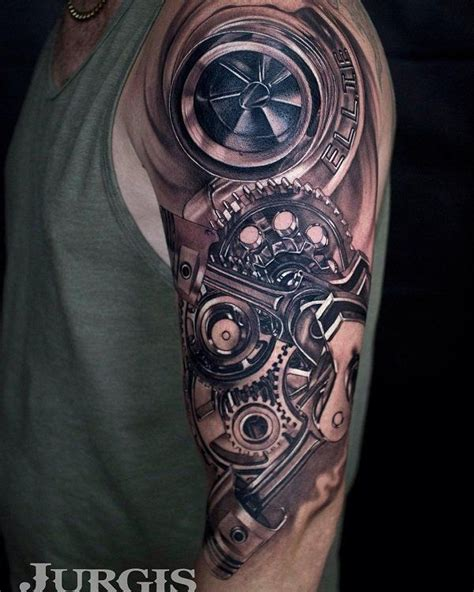 turbo tattoo ideas 60 cool sleeve designs ideas