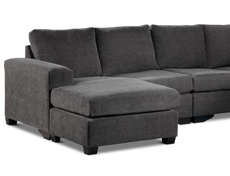 sectional with wedge danielle 3 piece sectional with left facing corner wedge