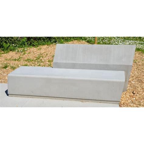banc beton banc en b 233 ton oblique sur mesure