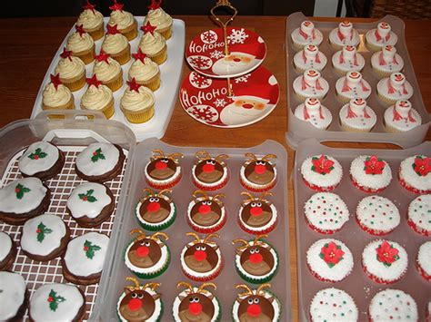 baking ideas for christmas and what to bake bake sale cupcakes flickr photo