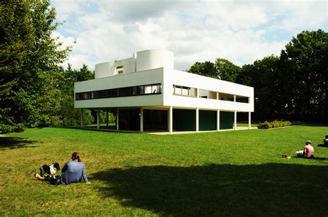 French Country Style Homes Interior by Ad Classics Villa Savoye Le Corbusier Archdaily