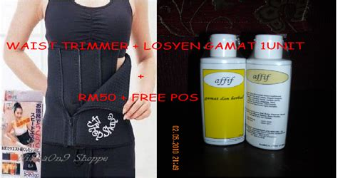 Termurah Korset Slimming Perut Waist Trimmer Belt As Seen On Tv kedaion92u