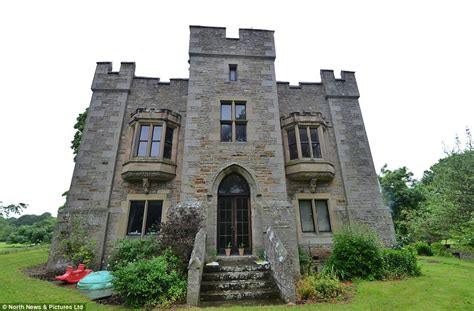 House Plans With Turrets by Bellister Castle Complete With Medieval Ruins And A Ghost