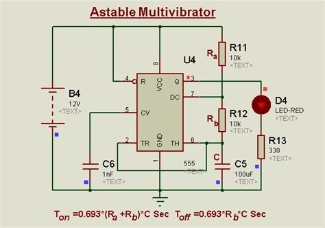 sofo cd60 capacitor 555 timer resistor calculator monostable 28 images 555 timer experiments design and
