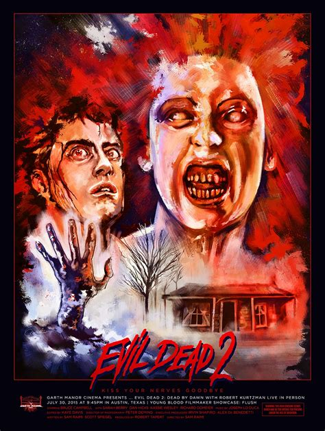 film the evil dead 2 evil dead 2 posterspy