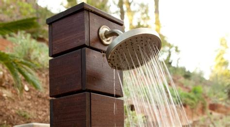 Install Outdoor Shower by 9 Things Not To Do When Installing Outdoor Shower Heads