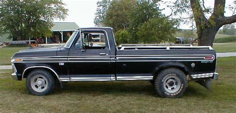 1975 Ford F250 Pickup Truck For Sale One Owner