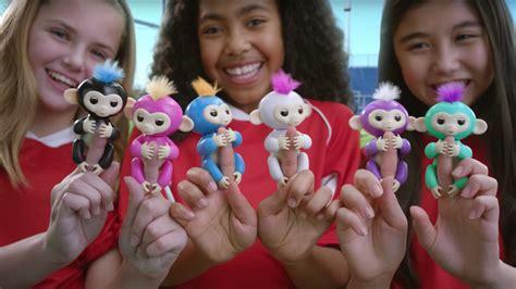 Fingerlings Baby Monkey wowwee fingerlings baby monkey toys