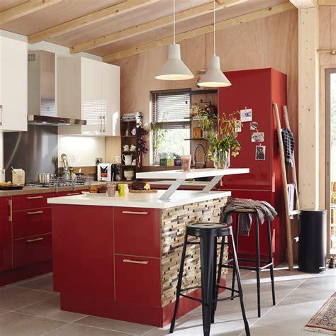 Merveilleux Cuisine Leroy Merlin Rouge #1: meuble-de-cuisine-rouge-delinia-grenade.jpg
