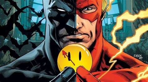 batman the flash the button b076fl1pzf batman e flash incontrano watchmen nel crossover the button stay nerd