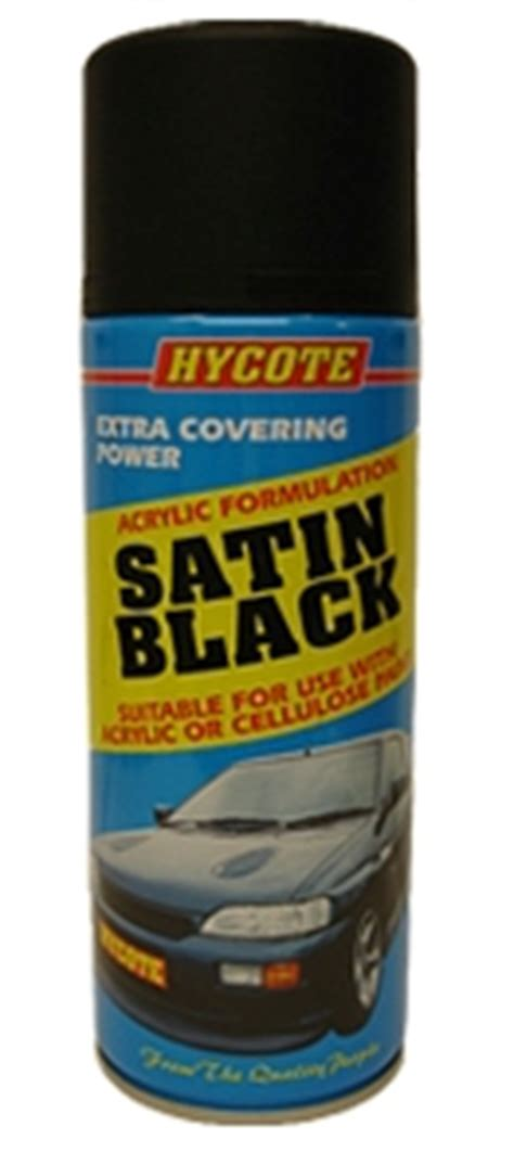 spray paint formulation hycote satin black