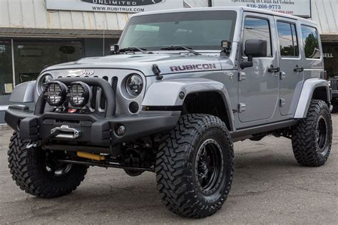 2014 Jeep Rubicon Unlimited 2014 Custom Billet Jeep Rubicon Unlimited For Sale